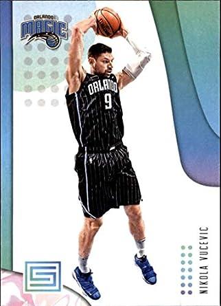 60867e659e3 2018-19 Panini Status NBA Basketball Card  99 Nikola Vucevic Orlando Magic