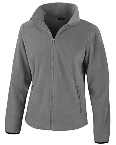 Fleece Daataadirect Core Result Fit Pure Fashion Ladies Grey nq1H8