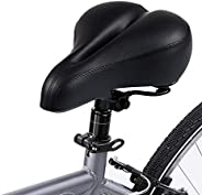 Bike Seat Bicycle Saddle Padded for Men Women Comfortable Central Relief Zone Waterproof Universal Riding Bike
