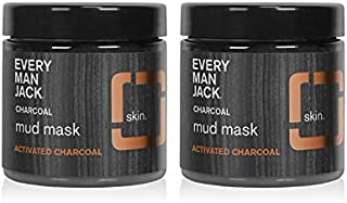 product image for Every Man Jack Activated Charcoal Mud Mask - 3.0-ounces (Twin Pack)