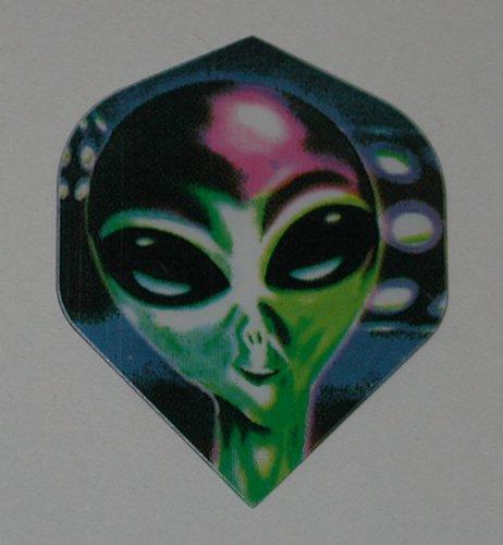 US Darts - 5 Sets (15 Flights) - Alien - Standard Dart Flights ()