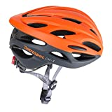 Retrospec by Westridge 3082 CM-3 Road Bike Helmet with LED Light Adjustable Dial, 24 vents