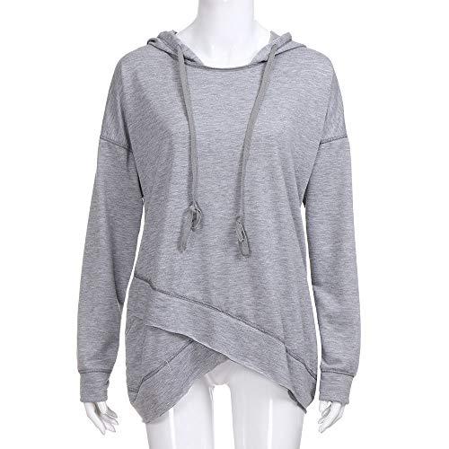 Damen Top Bluse Sommer Pullover Oberteile Freizeit Slim Fit Bluse