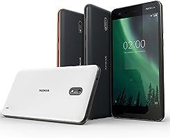 Nokia 2 - Android 7 0 Nougat - 8GB - Dual SIM Unlocked Smartphone  (AT&T/T-Mobile/MetroPCS/Cricket/Mint) - 5