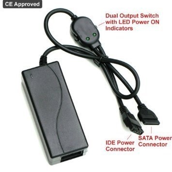 Ophion USB 2.0 TO SATA/IDE 2.5/3.5/5.25-INCH Hard Disk Drive With Power Supply Supports by Ophion (Image #4)