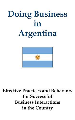 Doing Business in Argentina (Doing Business in ... Book 1) Pdf
