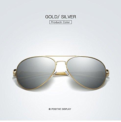 Adultos Sol diseño MXNET clásico Sol de polarizadas de para para Marca 6 Nuevo conducción Gafas Sol de de Gafas Espejo Gafas de Retro Mujeres de 1q6qIp