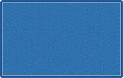 Flagship Office Classroom Decorative All Over Weave Blue Floor Rug Nylon Rectangle 7'6 x 12' [並行輸入品]   B07J4TGVLY