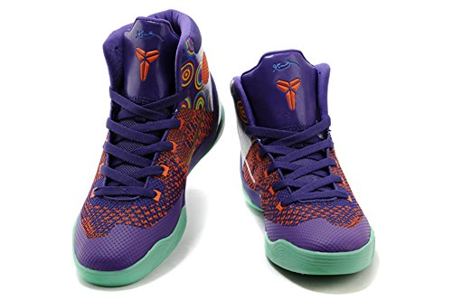 Men's Kobe Elite High Top Basketball Shoes Purple 41EU