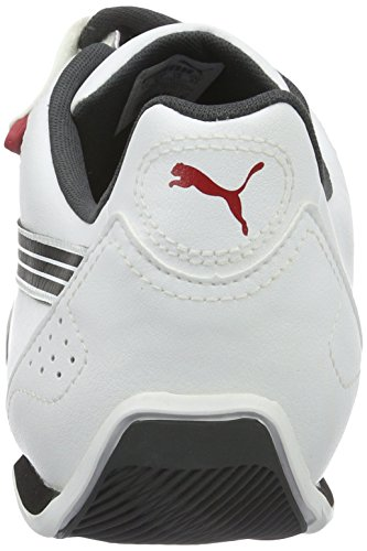 Red – Unisex 5 01wht Puma Basse Red 01 Blk 10 Adulto Bianco 45 Sneaker UK Wht Blk wEYYx074q