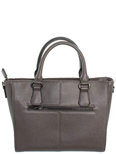 Hexagona 9 Main Borsa Xga44038 33 23 In Gray Hxxwr7wdq Ref Leather Worn Rw8qxCgU