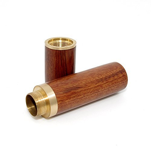 Vecent Portable Wood Toothpick Holder Mini Toothpick box Pocket Toothpick Holder (Light Brown)