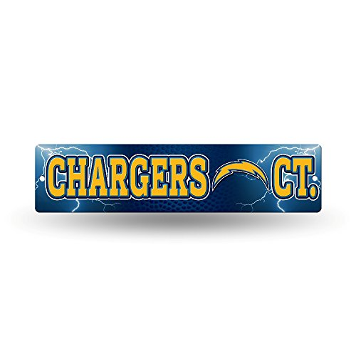 NFL San Diego Chargers High-Res Plastic Street Sign