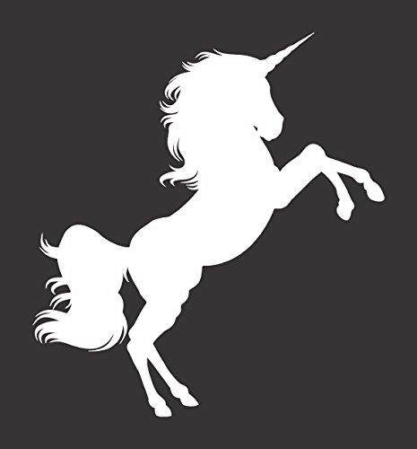 unicorn window decal - 5