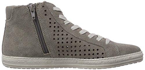 Dockers by Gerli 32LN242 - zapatillas deportivas altas de cuero mujer gris - Grau (grau 200)