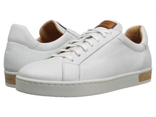Magnanni(マグナーニ) メンズ 男性用 シューズ 靴 スニーカー 運動靴 Caballeros - White [並行輸入品] B07BMD56HY