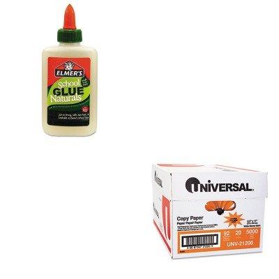 KITEPIE313UNV21200 - Value Kit - Elmer's School Glue Naturals (EPIE313) and Universal Copy Paper (UNV21200)