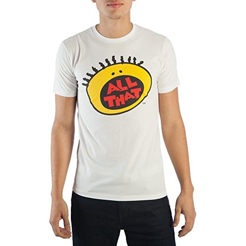 - 90s All That White Nickelodeon T-Shirt-XX-Large