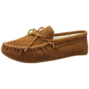 Minnetonka Men's Pile Lined Softsole Slipper