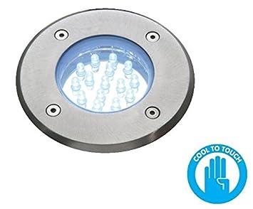 led round circular walk drive over light ip67 exteriaor outdoor