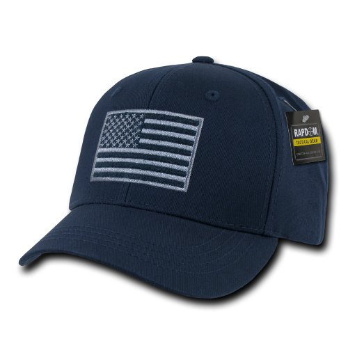 (RAPDOM Tactical USA Embroidered Operator Cap, Navy)