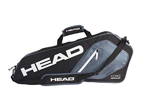 HEAD Core 3R Pro Tennis Racquet Bag - 3 Racket Tennis Equipment Duffle Bag