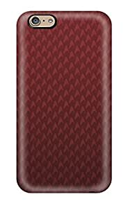 Durable Defender Case For Iphone 6 Tpu Cover(vintage Red)