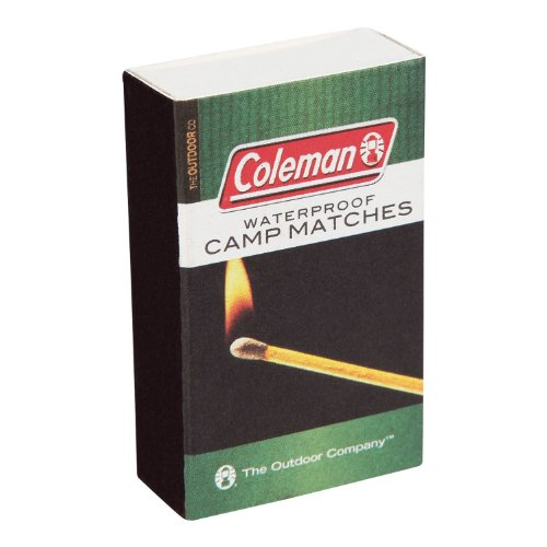 Coleman 829-205T Waterproof Matches (4 Pack) (Coleman Waterproof Matches compare prices)