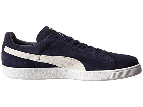 Men Mixte Suede Adulte Peacoat white For Puma Classic Noir Basses Sneakers xFf8Hq8P