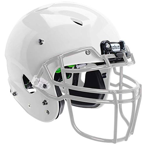 Schutt Sports Vengeance A3 Youth Football Helmet (Facemask NOT Included), White, Medium