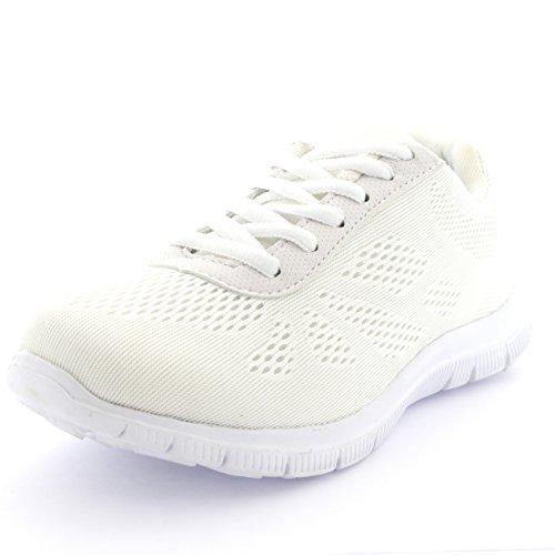 Fit Hommes Fonctionnement Blanc Formateur Athlétique Marchant En Get Engrener OknP0w