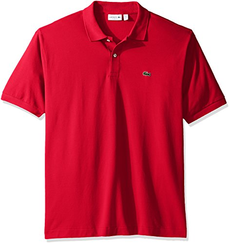 Lacoste Men's Short Sleeve Pique L.12.12 Original Fit Polo Shirt, L1212-51, Grenadine, 7 (Mens Lacoste Polo Shirts)