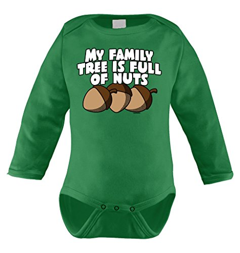 my-family-tree-is-full-of-nuts-long-sleeve-bodysuit-18-months-kelly-green