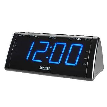 Daewoo Radio Despertador con Proyector LCD 222932 USB: Amazon.es ...