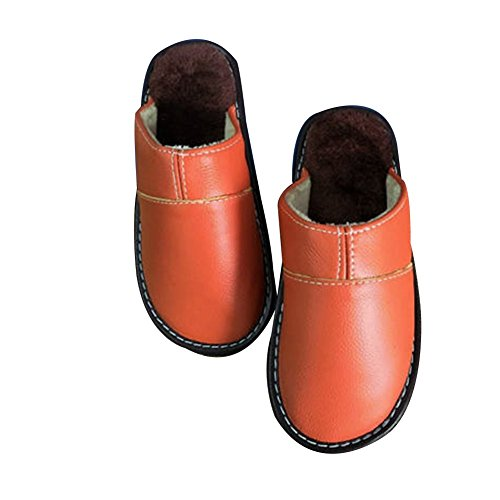 TELLW TELLW Chaussons Orange Chaussons femme pour 6pqxqw5
