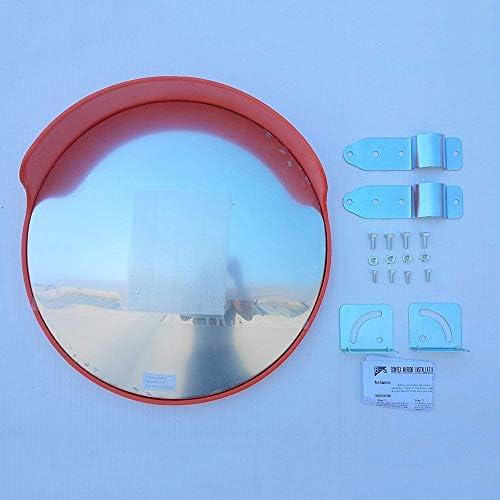 カーブミラー ラウンド屋外凸面鏡広角道路交通ミラーマウントアクセサリ60センチメートル80センチメートル防水球面鏡、取付金具を送ります RGJ4-25 (Size : 750mm)