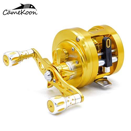 おすすめネット CAMEKOON CA100 CAシリーズ オールアルミ ラウンドベイトキャスティングフィッシングリール ギア比6.4:1 11+1 耐腐食性ベアリング 磁気ブレーキキャスト 11+1 CAMEKOON ドラムホイール B07KFFF44J CA100, ヒガシイズチョウ:7ac775d0 --- shrigajendrajewellers.com