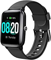 Letsfit Smart Watch with Heart Rate Monitor, 1.3 inch Touch Screen Fitness Trackers, Activity Tracker, IP68 Waterproof...