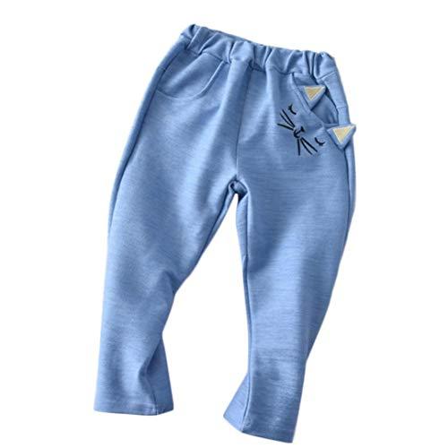 iOPQO Pants Leggings for Kids, Infant Boys Girls Cartoon Cat Print Long Pants