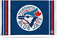 Blue Jays Flag Banner 3x5 Retro Cooperstown Logo Premium with Metal Grommets Outdoor House Baseball