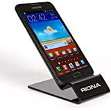 Riona Universal Acrylic Mobile Holder / Stand - MobiHold A4L Black MH-A4L-B
