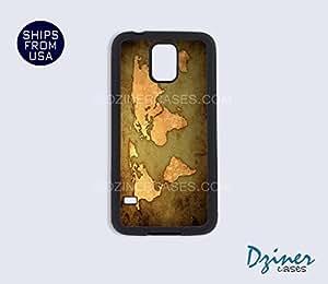 Galaxy S4 Case - Vintage World Map