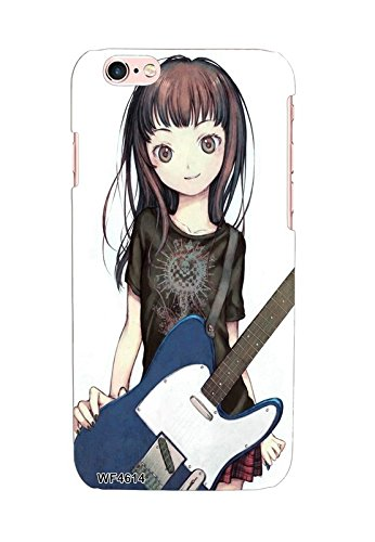 Anime Girl With Guitar Case For Apple Iphone 6 6s Amazon In