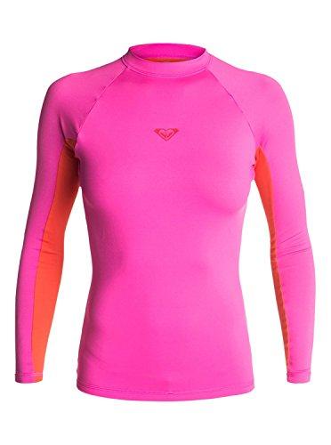roxy-juniors-xy-long-sleeve-rash-guard-paradise-pink-orange-black-medium