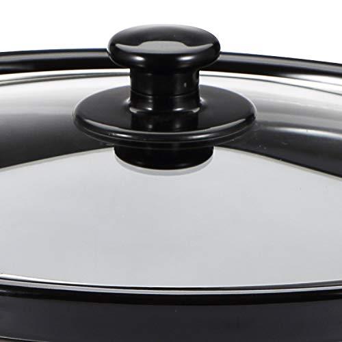 Bergner-Elite-Stainless-Steel-Slow-Cooker-320W-6-Liter-Grey