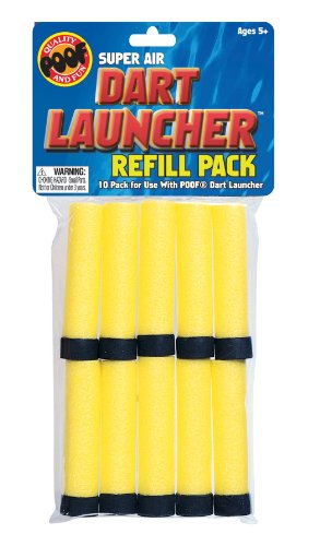 POOF Super Air Dart Launcher Refill ()