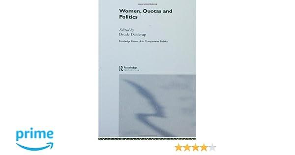 women quotas and politics dahlerup drude