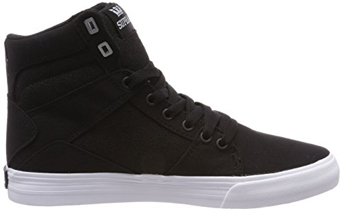 Supra Herren Aluminum Sneaker Schwarz (Black-White)