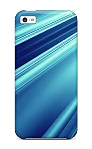 Special Design Back Abstract Blue Phone Case Cover For Iphone 5c