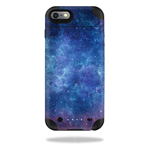 MightySkins Protective Vinyl Skin Decal for Mophie Juice Pack iPhone 6 Plus cover wrap sticker skins Nebula